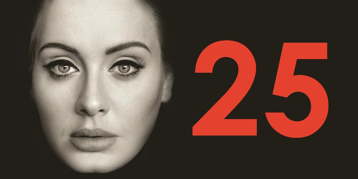 Adele 25 Albümü